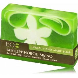 EcoLab Natural Glycerin Hand-Made Herbal Soap ar rokām darinātas ziepes ar zaļumiem