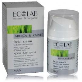 EcoLab Arnica & Karite Face Cream mitrinošs un barojošs sejas krēms vīriešiem