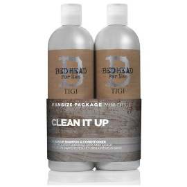 Tigi Bed Head For Men Clean Up komplekts vīriešiem (750 ml. šampūns + 750 ml. kondicionieris)