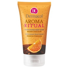 Dermacol Aroma Ritual Body Scrub Belgian Chocolate ķermeņa skrubis