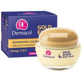 Dermacol Gold Elixir Rejuvenating atjaunojošs nakts krēms 50 ml