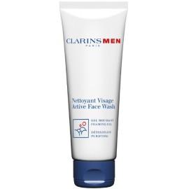 Clarins Men Active Face Wash sejas tīrīšanas līdzeklis vīriešiem 125 ml.