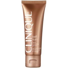 Clinique Self Sun Face Bronzing Gel Tint paštonējošs gēls sejai 50 ml.