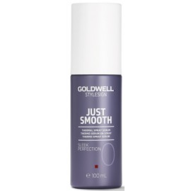 Goldwell Style Sign Just Smooth Sleek Perfection gludinošs aerosols aizsargājošs pret karstumu 100 ml.