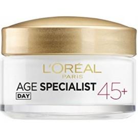 Loreal Age Specialist 45+ dienas krēms pretgrumbu 50 ml.