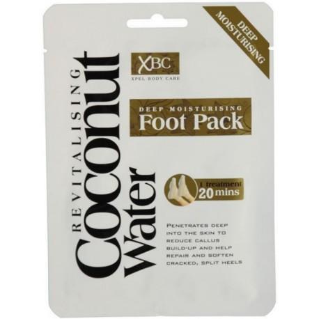 Xpel Coconut Water Deep Moisturising Foot Pack kāju maska-zeķes ar kokosa ūdeni