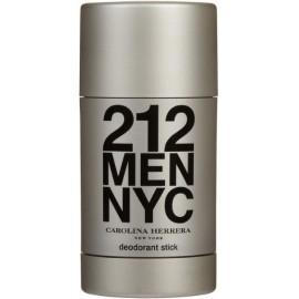 Carolina Herrera 212 Men pieštukinis dezodorantas vyrams 75 ml.