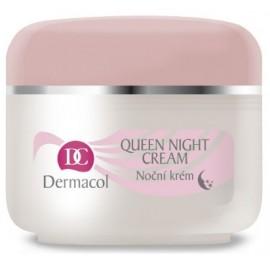 Dermacol Queen Night Cream nakts sejas krēms sausai ādai 50 ml.