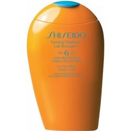 Shiseido TANNING Emulsion SPF 6 sauļošanās emulsija 150 ml.
