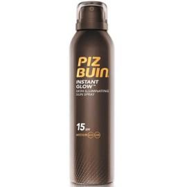 Piz Buin Instant Glow aerosols ar aizsardzību SPF15 un pērļu spīdumu 150 ml.