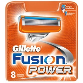 Gillette Fusion Power skuvekļa kasetes