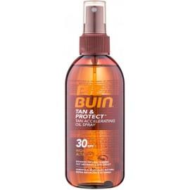 Piz Buin Tan & Protect Tan Accelerating Oil Spray SPF30 aizsargājoša, iedegumu pastiprinoša eļla 150 ml.