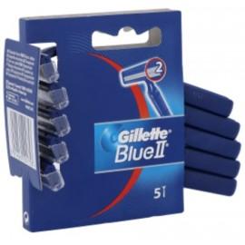 Gillette Blue II vienreizējie skuvekļi 5 gab.