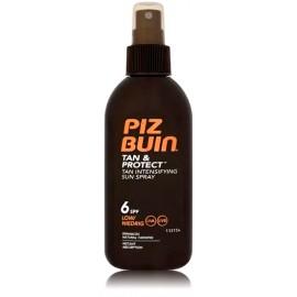 Piz Buin Tan Intensifier Sun Spray SPF6 aizsargājošs aerosols sekmējošs iedegumu 150 ml.