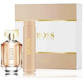 Hugo Boss The Scent for Her komplekts sievietēm (100 ml. EDP + 200 ml. ķermeņa losjons)