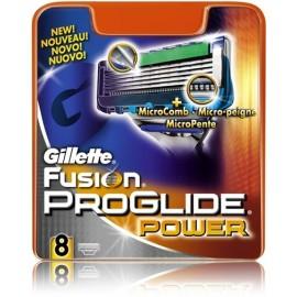 Gillette Fusion ProGlide Power skuvekļa galviņas