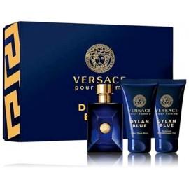 Versace Dylan Blue Pour Homme komplekts vīriešiem (50 ml. EDT + 50 ml. dušas želeja + 50 ml. balzams pēc skūšanās)