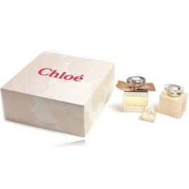 Chloe Chloe komplekts sievietēm (75 ml. EDP +5 ml. EDP + 100 ml. ķermeņa losjons)