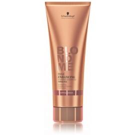 Schwarzkopf Professional BlondMe Tone Enhancing Bonding Warm Blondes šampūns gaišiem matiem 250 ml.