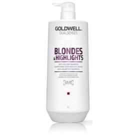 Goldwell Dualsenses Blondes Highlights šampūns gaišiem matiem