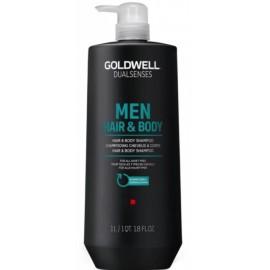 Goldwell Dualsenses For Men Hair & Body šampūns un dušas želeja vīriešiem