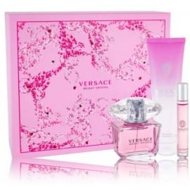 Versace Bright Crystal komplekts sievietēm (90 ml. EDT + 10 ml. EDT + 150 ml. dušas želeja)