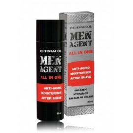 Dermacol Men Agent Anti-Aging mitrinošs balzams pēc skūšanās 50 ml.
