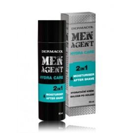 Dermacol Men Agent Hydra Care atsvaidzinošs balzams pēc skūšanās 50 ml.