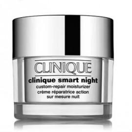 Clinique Smart Night Custom-Repair Moisturizer nakts mitrinošs krēms taukainai/jauktai ādai 50 ml.