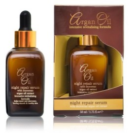 Xpel Argan Oil Night Repair Serum nakts serums ar argano eļļu 50 ml.