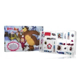 Disney Masha and The Bear Advent Cosmetic Calendar advento kalendorius