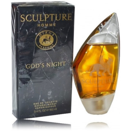 biología Disipación sabor dulce  Nikos Sculpture Homme God's Night EDT духи для мужчин