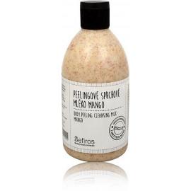 Sefiros Body Peeling Cleansing Milk Mango dušo kremas su šveičiamuoju efektu 500 ml.