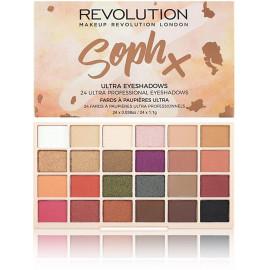 Makeup Revolution Soph X acu ēnu palete 26,4 g.