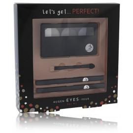 2K Let´s Get Perfect! acu ēnu komplekts (6,6 g. acu ēnas + 2 gab. acu zīmuļi)