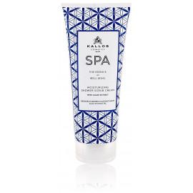Kallos SPA Moisturizing Shower Scrub Cream skrubis ķermenim 200 ml.