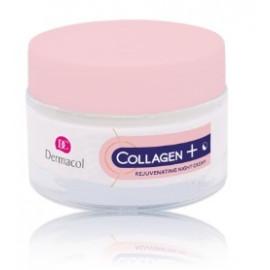 Dermacol Intense Rejuvenating Night Cream Collagen Plus atjaunojošs sejas krēms naktij 50 ml.