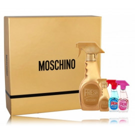 Moschino Gold Fresh Couture komplekts sievietēm (50 ml. EDP + 3 x 5 ml.)