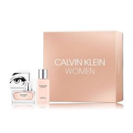 Calvin Klein Women komplekts sievietēm (100 ml. EDP + 100 ml. ķermeņa losjons)