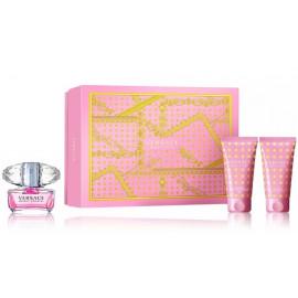 Versace Bright Crystal komplekts sievietēm (50 ml. EDT + 50 ml. ķermeņa losjons + 50 ml. dušas želeja)
