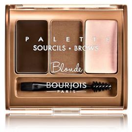 Bourjois Brow Palette palete uzacu formēšanai 4,5 g. 001 Blonde
