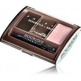 Bourjois Brow Palette palete uzacu formēšanai 4,5 g. 002 Brunette