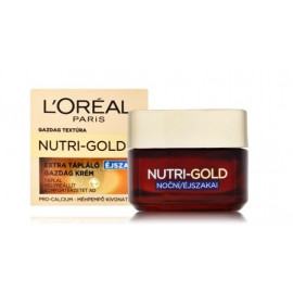 Loreal Nutri Gold Night Cream barojošs nakts krēms 50 ml.
