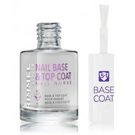 Rimmel Nurse Nail Base & Top Coat 5in1 nagu stiprinošs līdzeklis 12 ml.