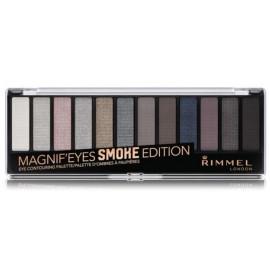 Rimmel Magnif Eyes acu ēnu palete 14 g. krāsa 003 Smoke