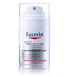 Eucerin Silver Deep Moisture dziļi mitrinošs sejas krēms vīriešiem 50 ml.