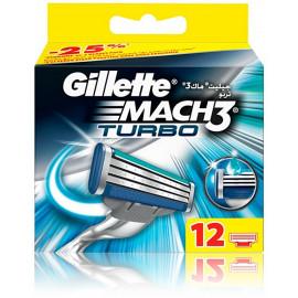 Gillette Mach3 Turbo skuvekļa galviņas