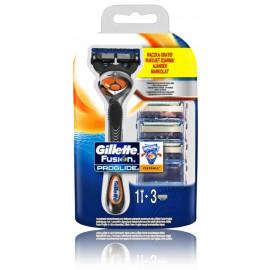 Gillette Fusion Proglide Flexball skustuvas ir galvutės