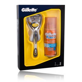 Gillette Fusion ProShield skūšanās piederumu komplekts vīriešiem (skuveklis+ 75 ml. skūšanās želeja)