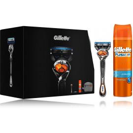 Gillette Fusion FlexBall rinkinys vyrams (skustuvas + gelis + kelioninis krepšys)